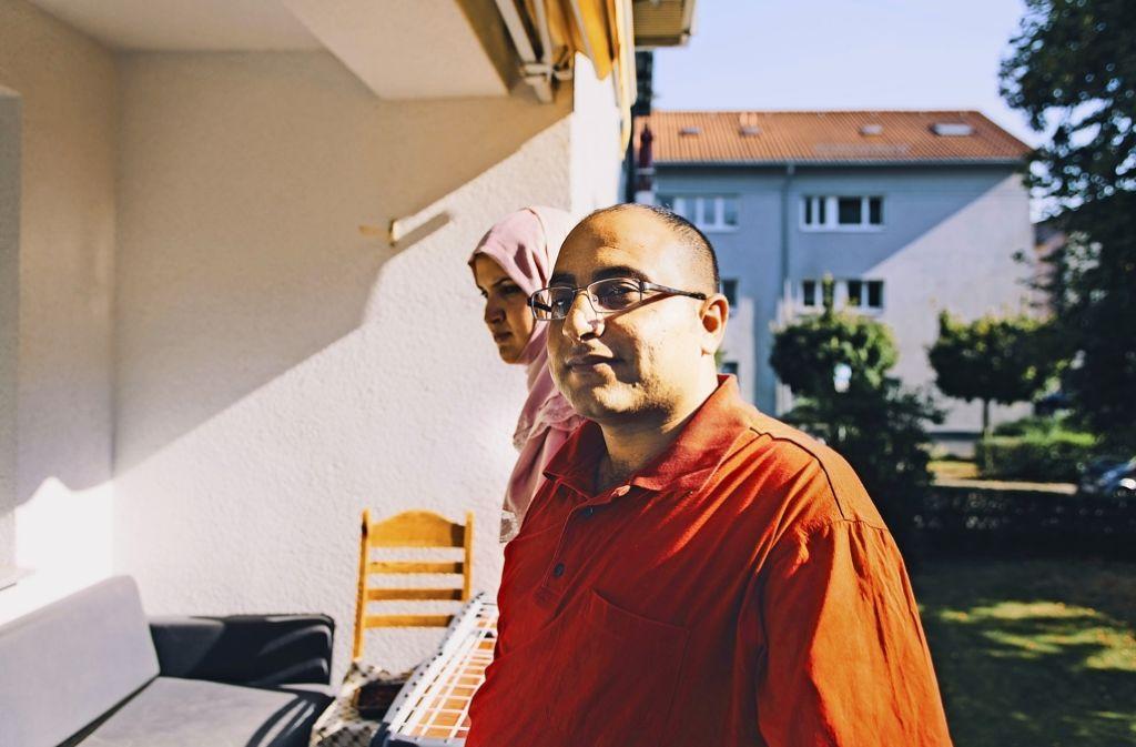 Mohamad Alsheikh Ali und seine Frau Gihan Albatran Foto: Lichtgut/Verena Ecker