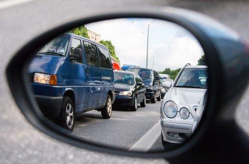 Vollsperrung der A656 wegen Brückenbaus