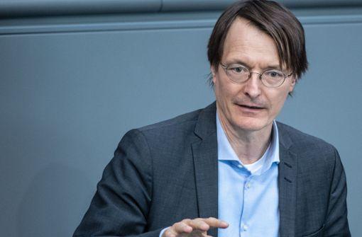 """Karl Lauterbach:""""Große Gruppen im privaten Raum sind ein No-Go"""""""