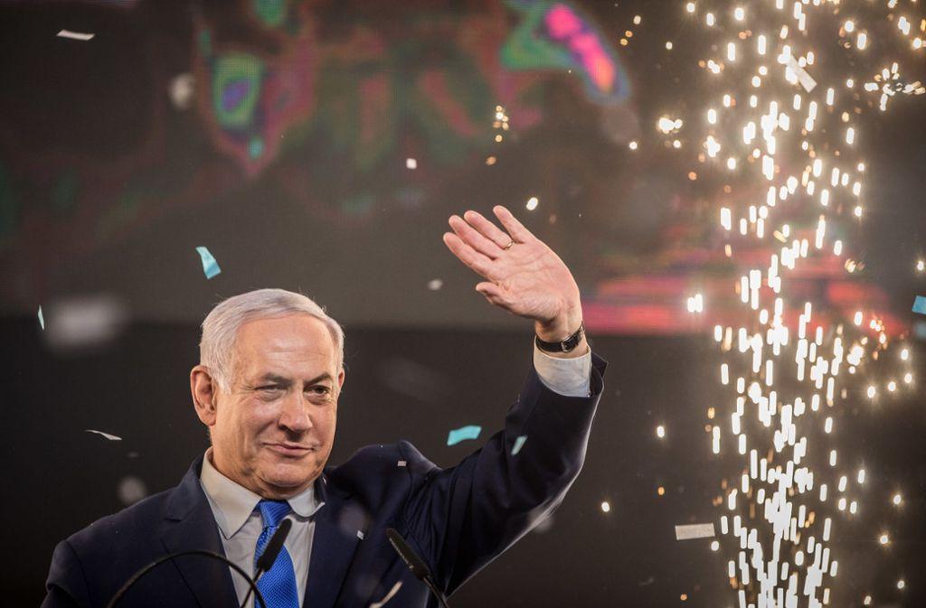 Das rechte Lager um Benjamin Netanjahu hat bei den Wahlen in Israel die Nase vorn. Foto: dpa