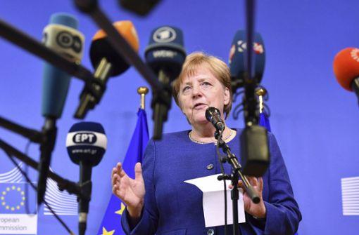 """Angela Merkel sieht trotz Differenzen """"viel guten Willen"""""""