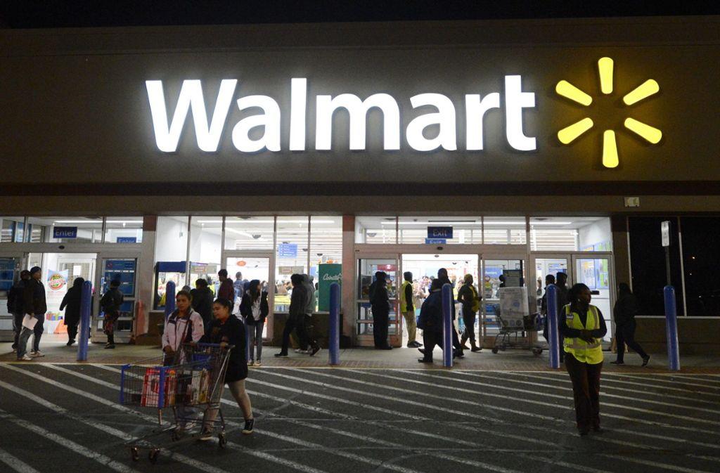 Walmart ist die eine der größten Supermarktketten der Welt. Foto: dpa/Michael Reynolds