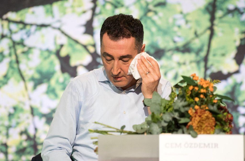 In der Seele tue es ihm weh, wenn er an das Geld für Stuttgart 21 denke, sagt Cem Özdemir. Foto: dpa