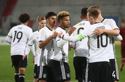 Deutsche U21-Fußballer für EM qualifiziert