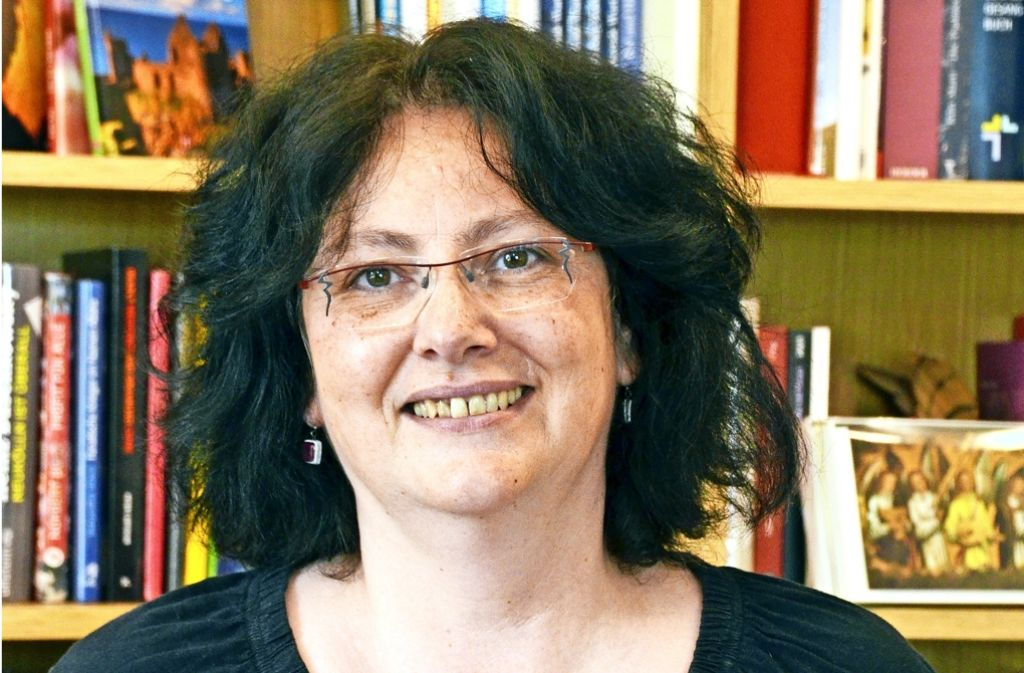 Hiltrud Singer aus der Rohrer Buchhandlung. Foto: Sandra Hintermayr
