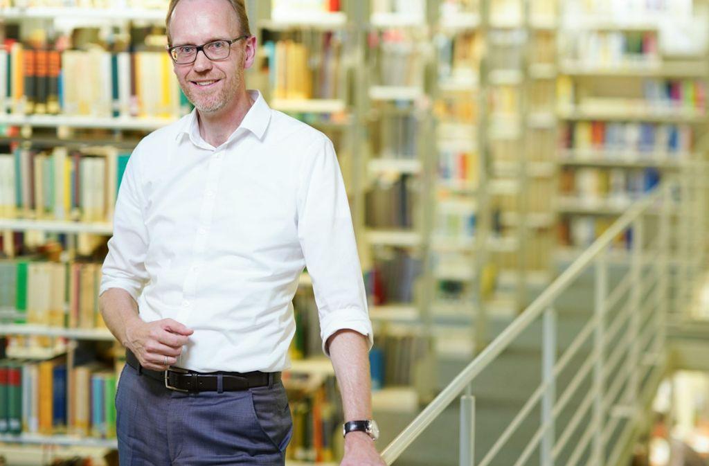Mit wachem Blick für Veränderungen: Henning Lobin vom Institut für Deutsche Sprache in Mannheim Foto: dpa