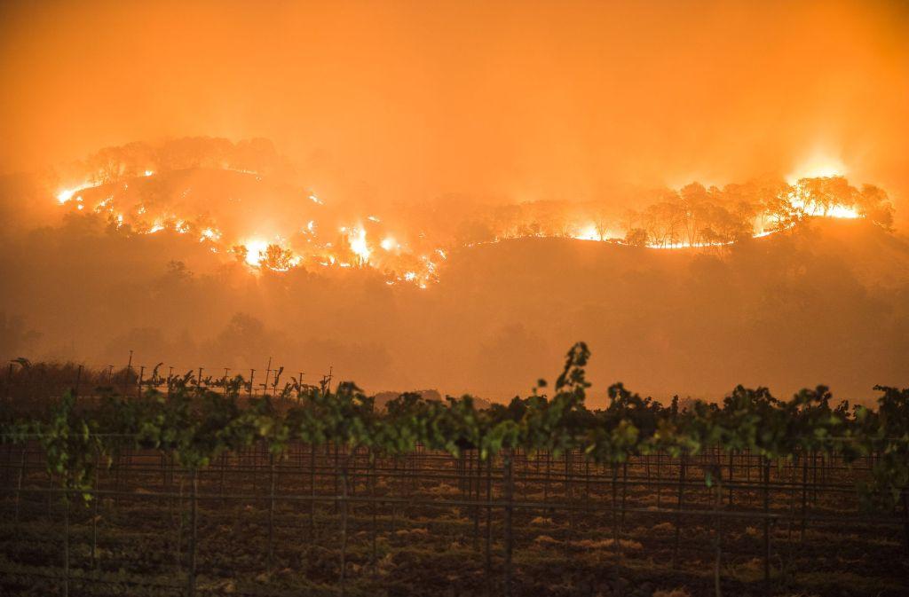 Die Waldbrände in Kalifornien breiten sich immer weiter aus. Foto: dpa