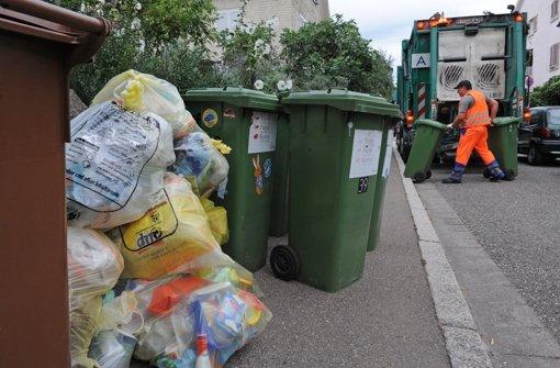 Die Abfallmengen in Baden-Württemberg sind kontinuierlich zurück gegangen. Foto: dpa
