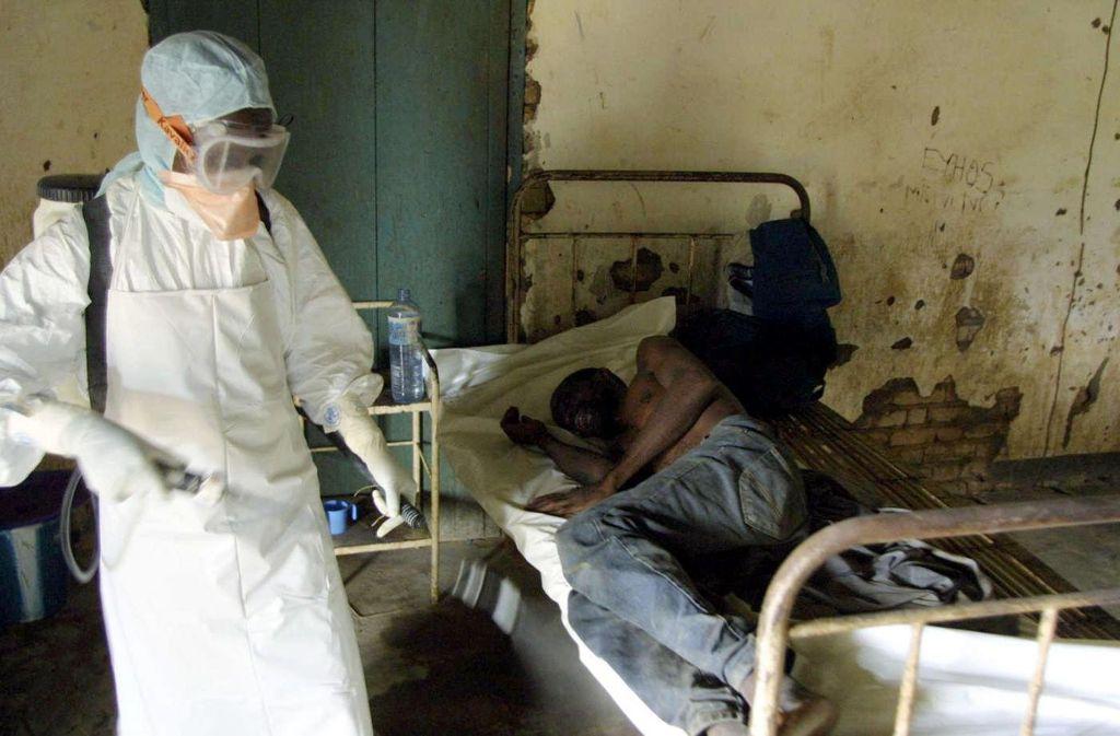 Ebola ist im Kongo erneut ausgebrochen (Archivbild). Foto: AFP