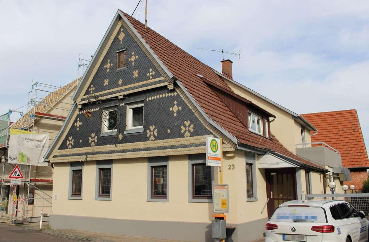 Das ehemalige Gasthaus  an der Mannspergerstraße  steht zum Verkauf. Foto: Holowiecki