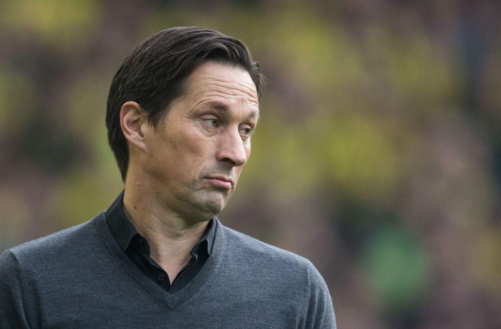Bayer Leverkusen setzt nicht mehr auf Trainer Roger Schmidt. Foto: dpa