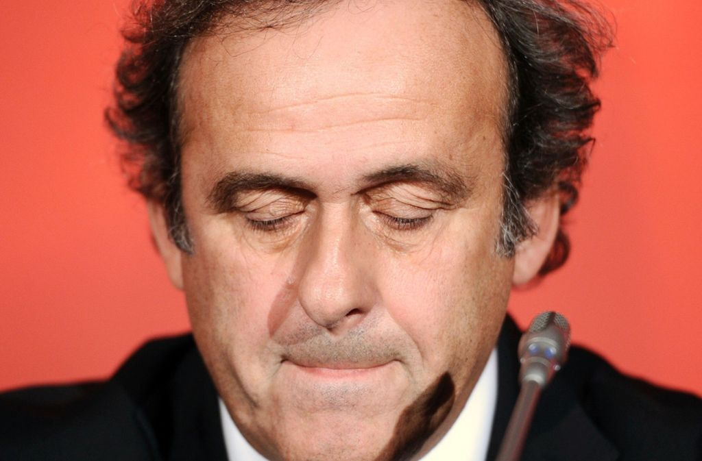 In Polizeigewahrsam: Der ehemalige UEFA-Präsident Michel Platini. Foto: AFP