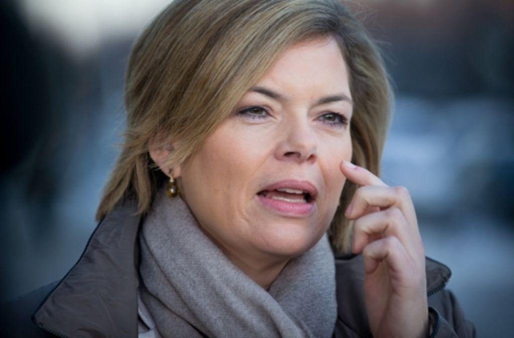 Julia Klöckner, CDU-Spitzenkandidatin in Rheinland-Pfalz, will nicht an der TV-Debatte des SWR teilnehmen. Foto: dpa