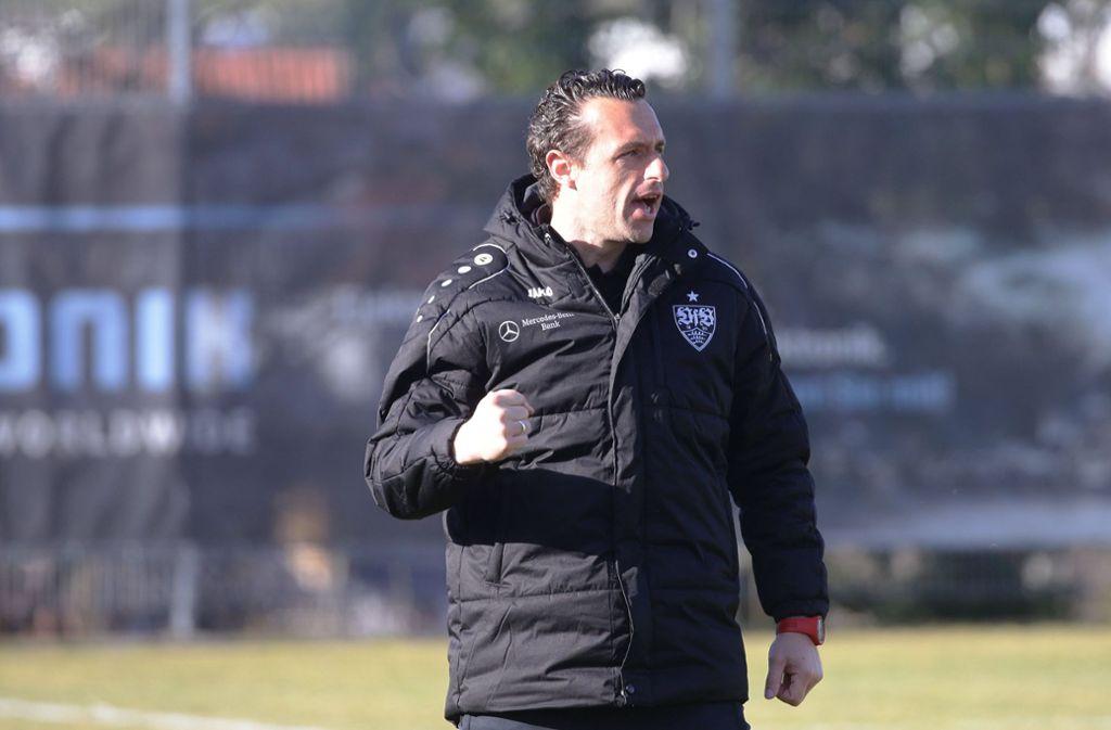 Michael Gentner konnte mit der Leistung seines Teams zufrieden sein. Foto: imago images/Pressefoto Baumann