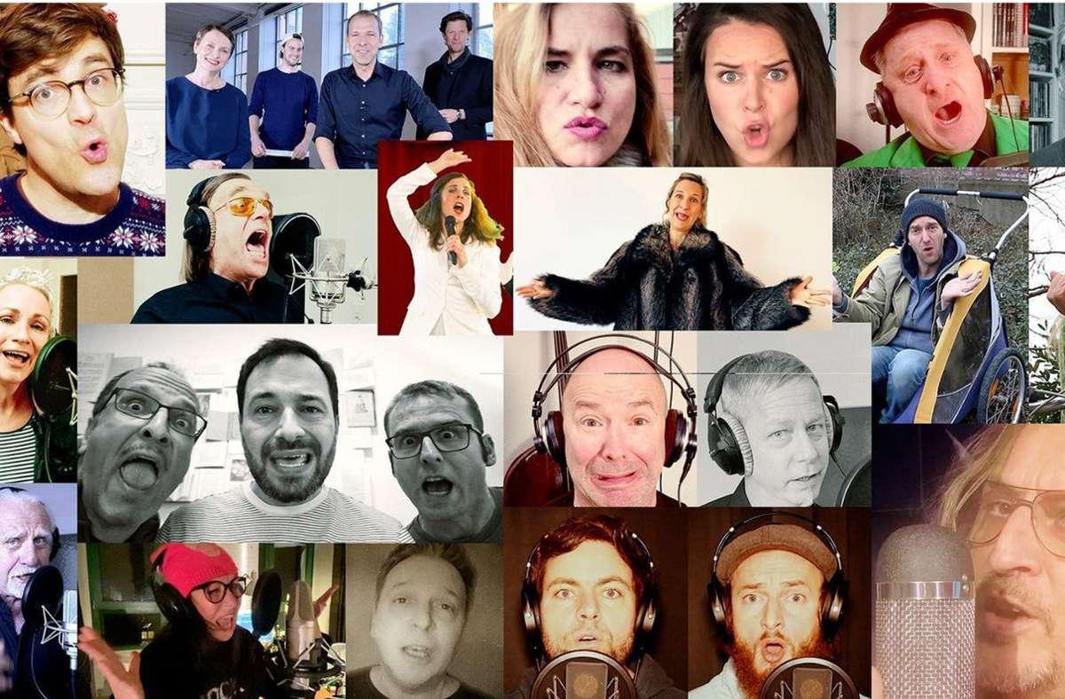 Das Lockdown Medley aus dem wilden Süden sorgt im Netz für große Begeisterung. Foto: Screenshot