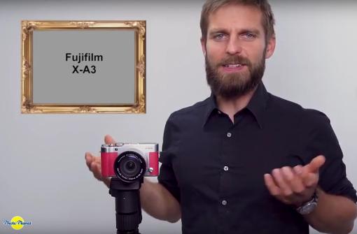 Hannes testet die Fuji X A3