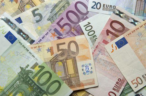 124,3 Milliarden Euro weniger Steuereinnahmen bis 2023
