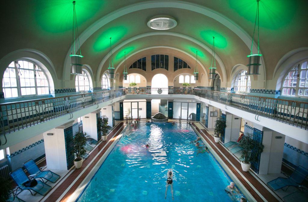 Das Merkel'sche Bad in Esslingen gehört zu den schönsten Bädern Deutschlands. Foto: Horst Rudel