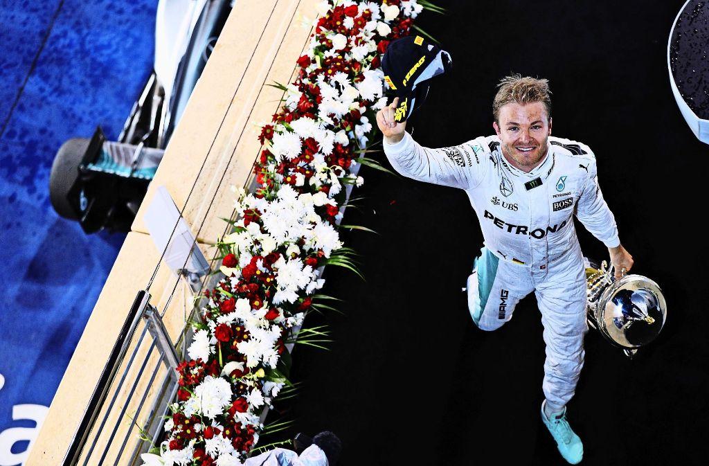 Auf Wiedersehen: Nico Rosberg tritt ab Foto: Getty
