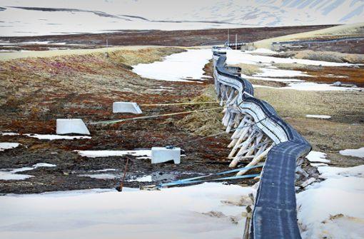 Dauerfrostböden tauen im Rekordtempo auf