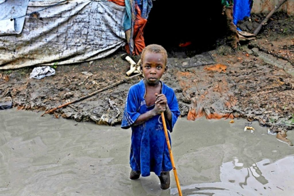 Unvorstellbare Zustände herrschen in vielen Flüchtlingslagern.  Unicef befürchtet, dass in den nächsten Wochen 50000 Kinder sterben werden. Foto: Unicef
