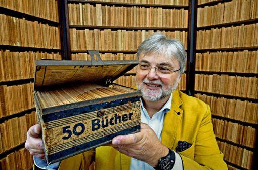 Buchweltgeschichte auf 50 Quadratmetern