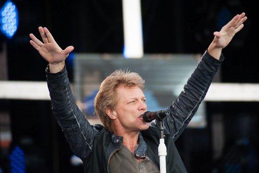Bon Jovi begeistern 30.000 Fans auf Cannstatter Wasen
