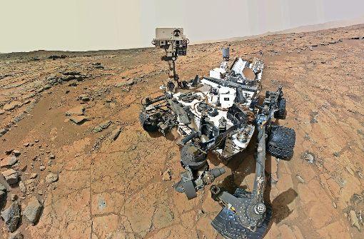 Curiosity – ein Roboter auf dem Mars