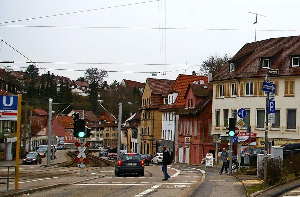 Aus Sicht der Stadt ist die Böblinger Straße am besten für die Ansiedlung eines weiteren Einzelhändlers geeignet. Foto: Alexandra Kratz