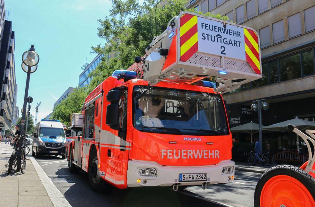 Am Stuttgarter Hauptbahnhof gab es nach einem Unfall Einschränkungen im S-Bahnverkehr. Zahlreiche Einsatzkräfte waren vor Ort. Foto: 7aktuell.de