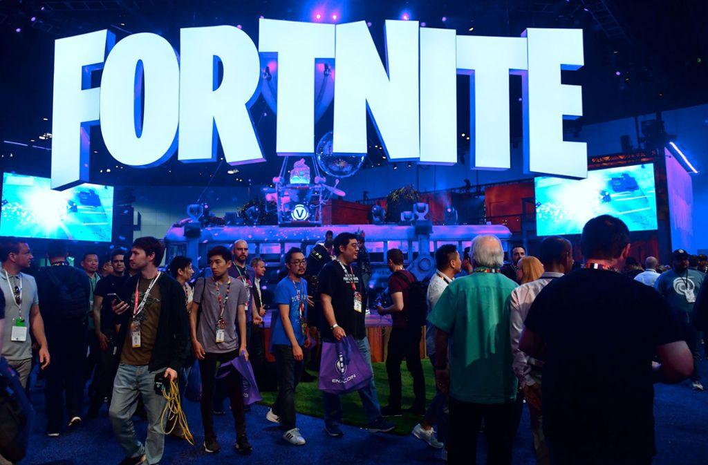 """""""Fortnite""""-Fans geben zum Teil viel Geld aus. Foto: AFP/FREDERIC J. BROWN"""