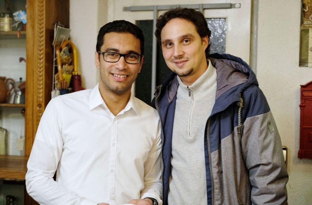 Daniel Link (rechts) bringt Menschen zusammen. Foto: IB/IB