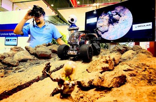 Nicht nur in der künstlichen Marslandschaft – überall, wo Menschen nicht hinkommen, können Kameras Foto: factum/Weise