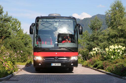 Mannschaft fährt zurück nach Stuttgart