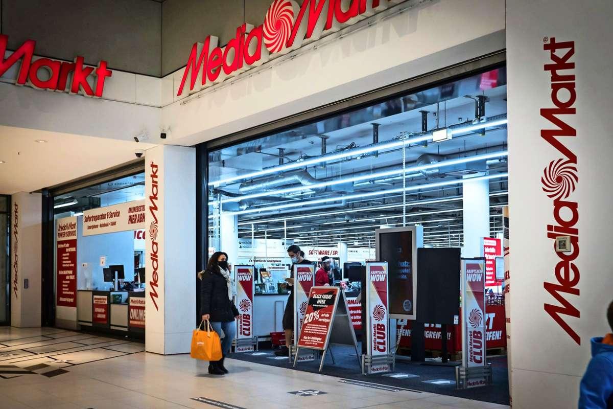 In November verkündete Media Markt das Aus der Filiale in der Vaihinger Schwabengalerie. Foto: Lichtgut/Achim Zweygarth