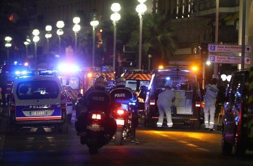 Mindestens 60 Tote in Nizza