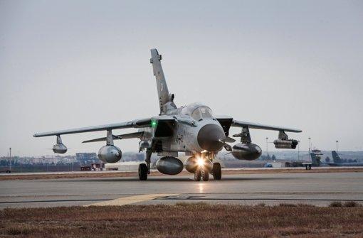 """Bundeswehr-""""Tornados"""" im Einsatz gegen den IS"""