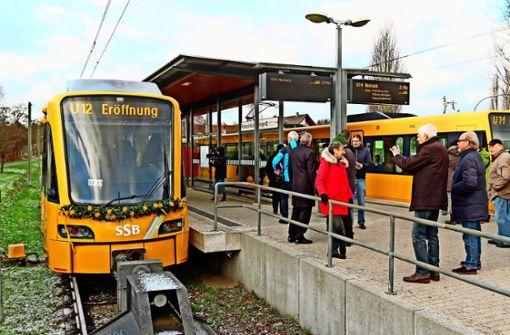 Die Pläne zur  Stadtbahn-Erweiterung bleiben ein Thema