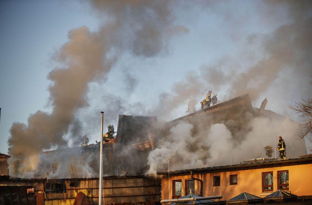 Die Staatsanwältin hält für die Brandstiftung am Bürgerzentrum eine Haftstrafe von dreieinhalb Jahren samt Unterbringung in der Psychiatrie für angemessen. Foto: Gottfried Stoppel