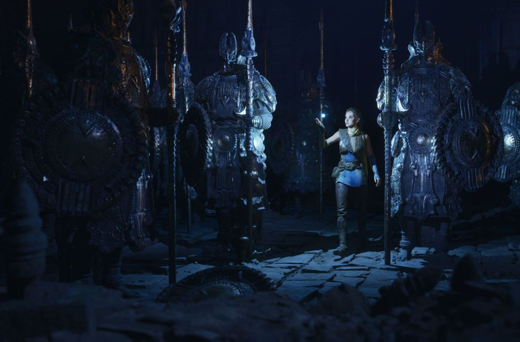 """Eine Szene aus der Unreal-Engine-5-Demo """"Lumen in the Land of Nanite"""". Foto: Epic Games"""