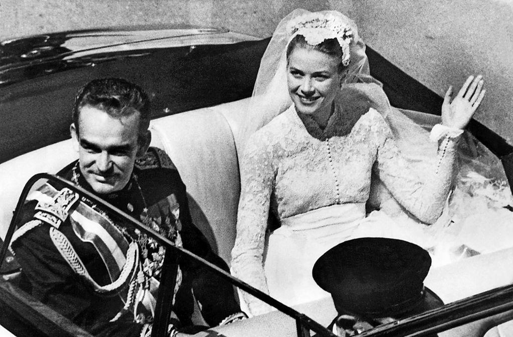 Grace kelly und Fürst Rainier von Monaco waren ein legandäres Liebespaar. Foto: dpa