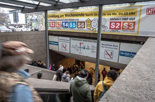 S-Bahn leidet unter S-21-Bau