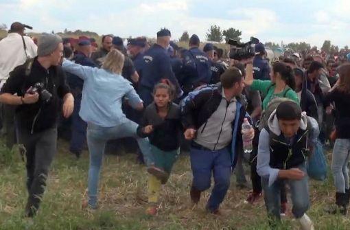 Berüchtigte Kamerafrau aus ungarischem Parlament verbannt