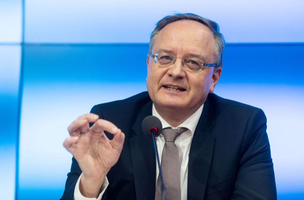"""Ein dröhnendes Schweigen kann wirksamer sein als tausend Worte"""", sagt SPD-Chef Andreas Stoch Foto: picture alliance/dpa"""