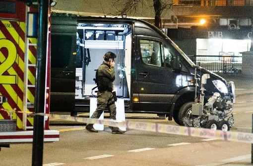 Sicherheitspolizei ermittelt nach bombenähnlichem Fund