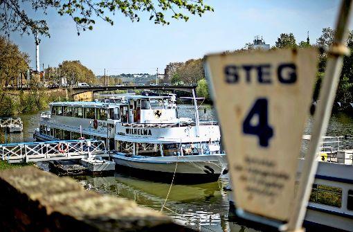 Neckar-Käpt'n zeigt Schlagseite