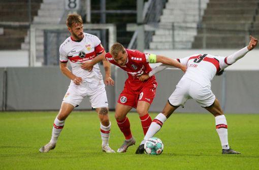 VfR Aalen nimmt beim VfB Stuttgart II verdient die Punkte mit