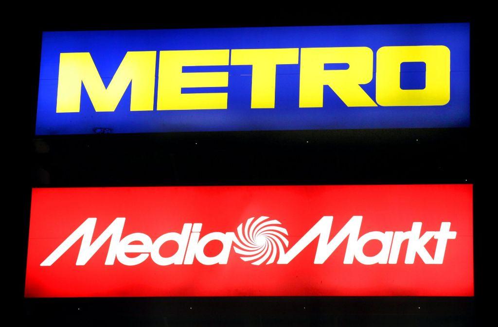 Der Handelskonzern Metro ist zerschlagen worden. Foto: dpa