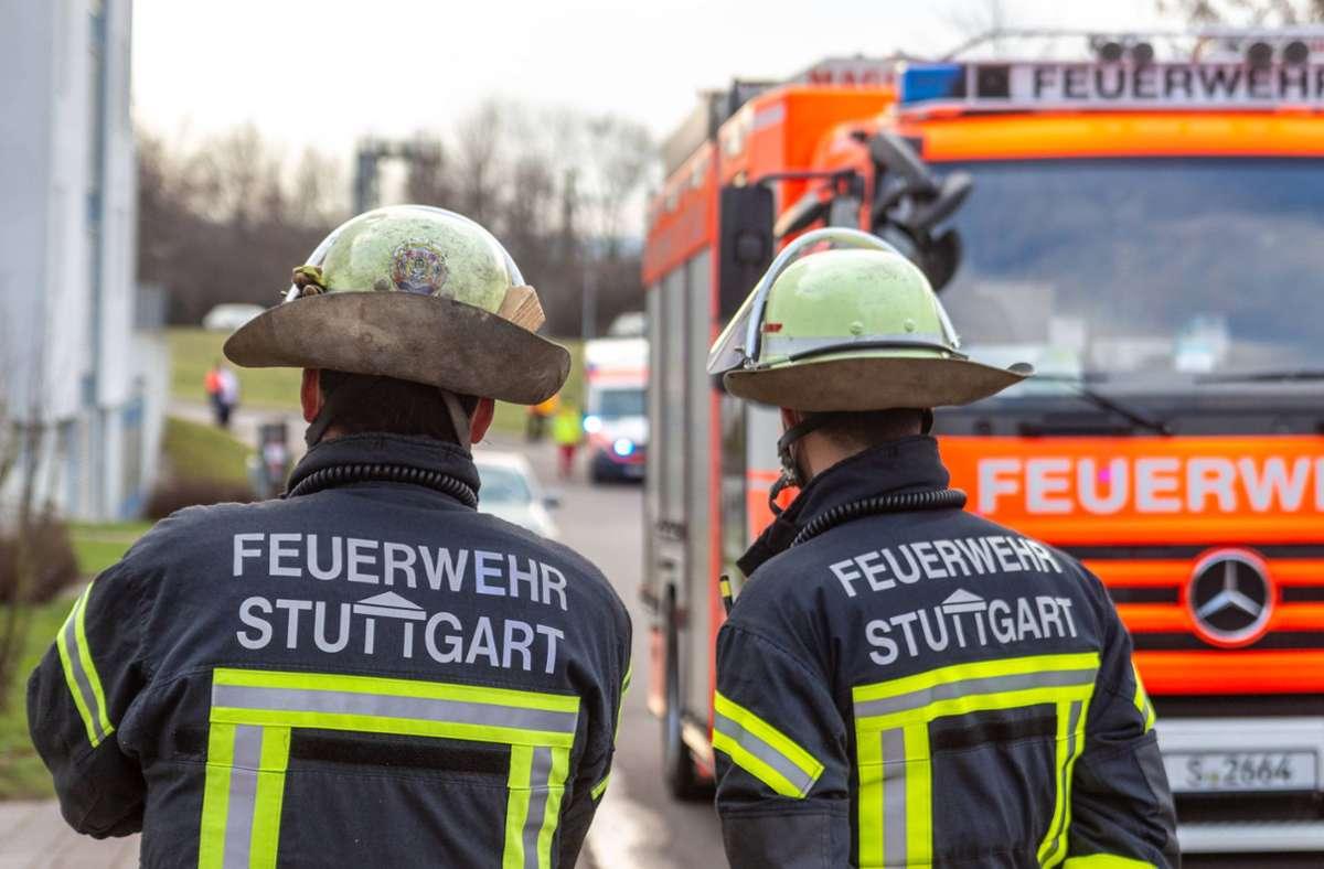 Küchenbrand in Stuttgart-Bad Cannstatt Foto: 7aktuell.de