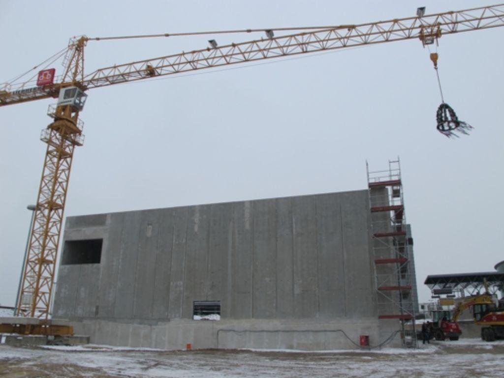 Im kommenden Jahr geht das moderne Blockheizkraftwerk in Betrieb. Foto: Malte Klein